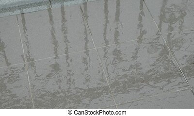 Wet Floor Square Tile