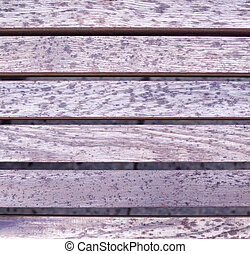 gray wooden surface texture, bench. background.
