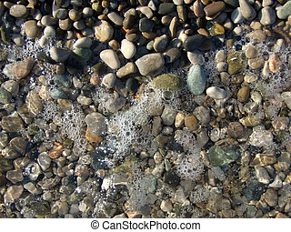 wet pebbles on the beach of the Black Sea1