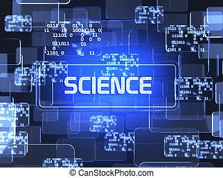 wetenschap, concept