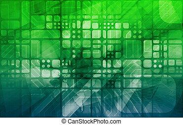 wetenschap, digitale