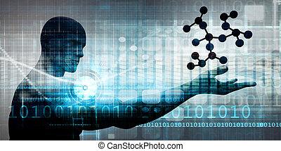 wetenschap, technologie, ontdekking
