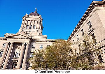 wetgevend, manitoba, gebouw