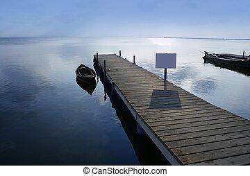 wetlands, lago, albufera, valencia, banchina, spagna