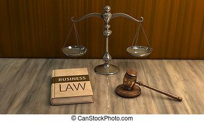 wettelijk, attributes:, gavel, schub, en, wet boek