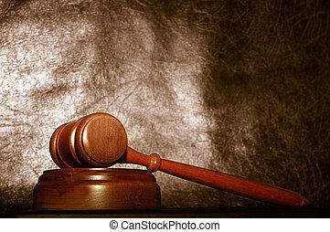 wettelijk, gavel