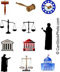 wettelijk, symbolen
