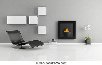 wewnętrzny, minimalista