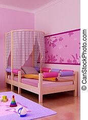 wewnętrzny, pokój dzieci