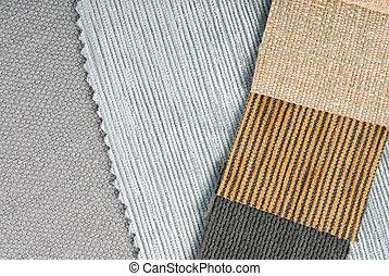 wewnętrzny, tapicerka, dom, projektować