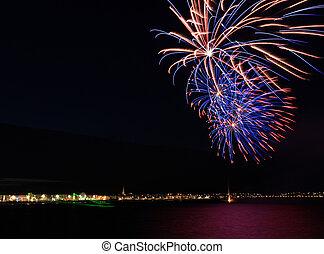weymouth, celebraciones, seafront