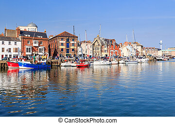 Weymouth Harbour Dorset England UK Europe