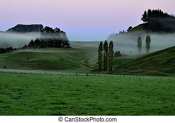 Whangaroa harbor New Zealand - Landscape of Whangaroa harbor...