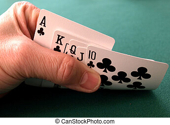 What a hand