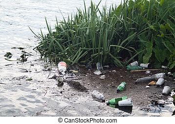 What a Shame - Litter from runoff after a big rainstorm...