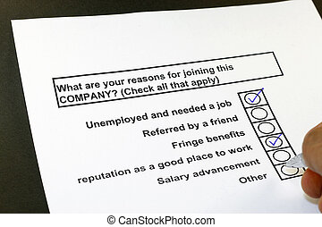 What are your reason in joining this company? - What are ...