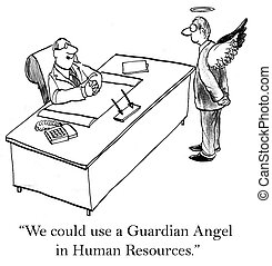 "What corporation wouldn't like a guardian angel - ""We could..."