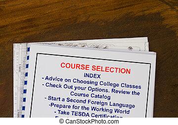 What course do i take