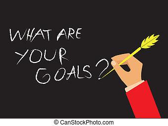 """""""what, goals"""", seu"""