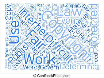 What is Fair Use Word Cloud Concept Text Background
