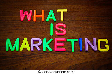 What is marketing in toy letters