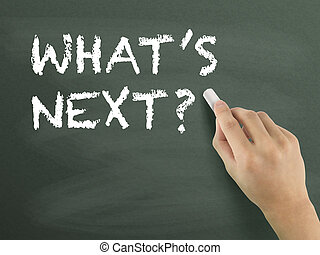 what is next words written by hand