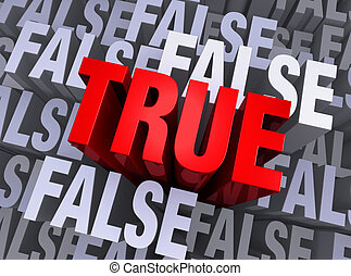 What Is True Rises Above What Is False