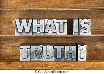 what is truth tray - what is truth question made from...
