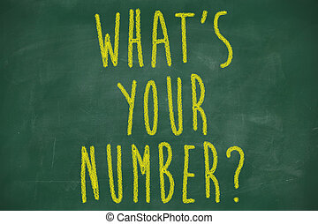 what is your number question