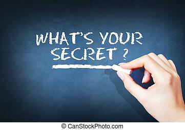 What is your secret question