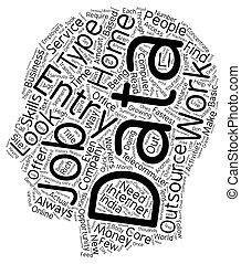 What Is Your SWOT text background wordcloud concept