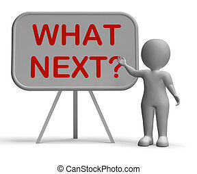 What Next Whiteboard Means Following Procedures And Planning...