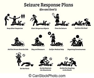 What to do during a seizure.