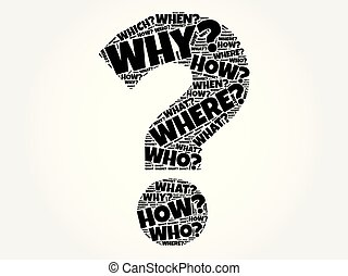 What, where, how, when questions - Where? - Questions whose...