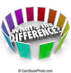 whats, molti, idee, opportunità, paragonare, porte,...