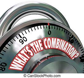 What's the Combination Secret Code Unlock Potential - The...