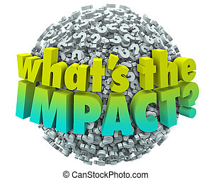 Whats the Impact Question Marks Effect Consequence Result...