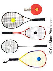 What's your racket - Table tennis, Tennis, squash, badminton...