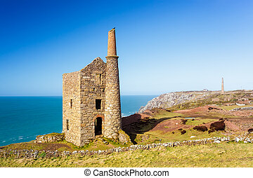 Wheal Owles Cornwall - Wheal Owles at Botallack used as the ...