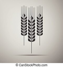 Wheat ear icon.
