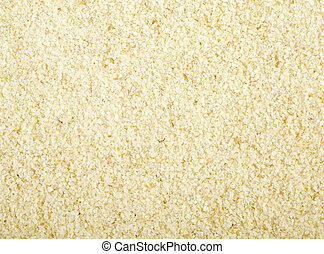Wheat Farina - Wheat farina (semolina) background, close up...