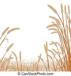 Wheat Field Frame