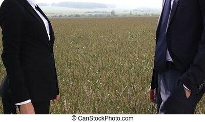 Wheat-field partnership