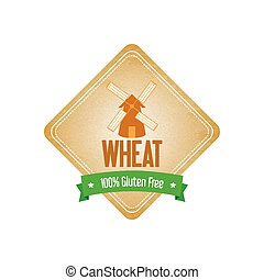 Wheat Label