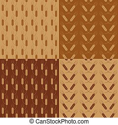 Wheat patterns set