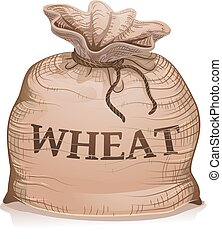 Wheat Sack Illustration