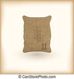 wheat textile full sack