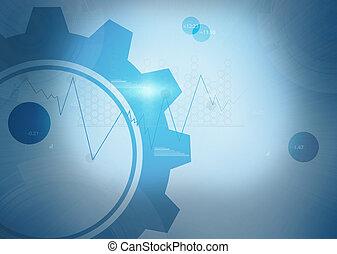 whee, bleu, arrière-plan numérique
