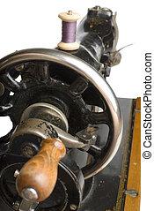 Wheel and handle