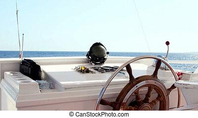Wheel boat